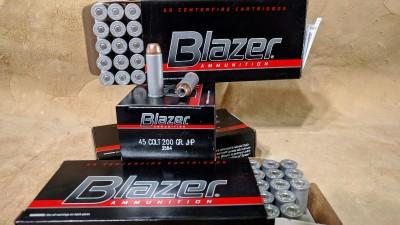 Blazer .45 Colt