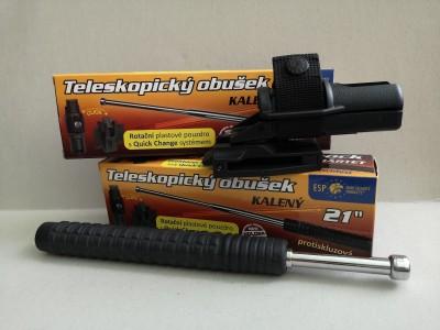 Teleskopický obušek-kalený
